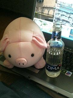 今日も昼からZimaが美味い